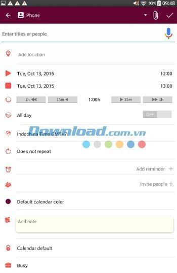 CloudCal für Android 0.10.09c - Anwendung für effektives Event-Management unter Android
