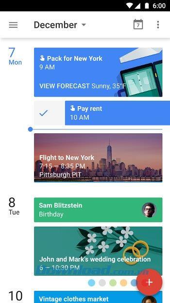 Android用Googleカレンダー-Androidで個人のカレンダーを管理する
