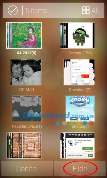 FotoX für Android 1.4 - Fotos und Videos auf Android ausblenden