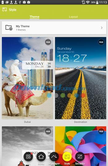 ZUI Locker für Android 1.7.2 - Wunderschöner Sperrbildschirm für Android