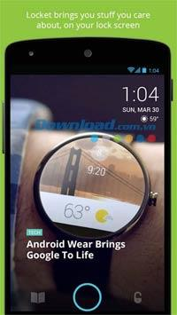 Medaillon für Android 2.1.7 - Neue Bildschirmsperre für Android