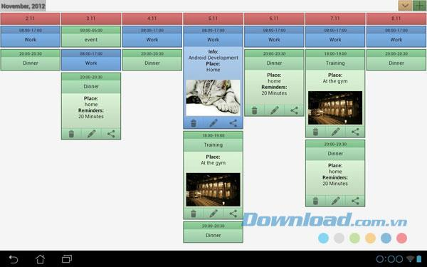 Android1.241用の簡単なカレンダー-Androidでカレンダーをより簡単に管理する