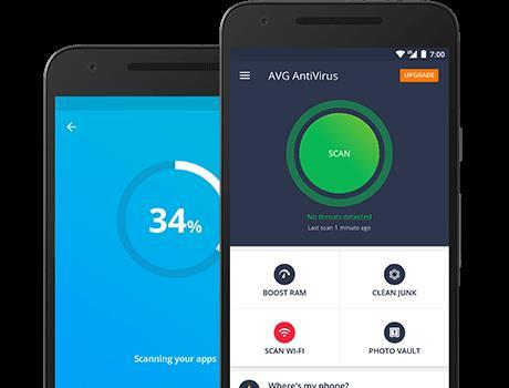 AVG AntiVirus 2019 forAndroidセキュリティ-Android上の効果的なウイルス対策アプリケーション