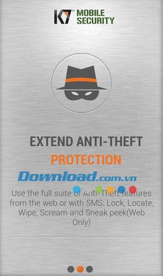 K7 Mobile Security für Android 1.0.98 - Vielseitige Antivirensoftware für Android
