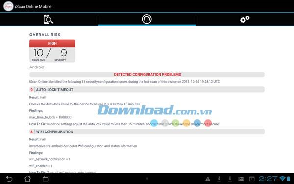iScan Online for Android2.0.0131.14-複数のAndroidデバイスで同時にウイルスをスキャンする