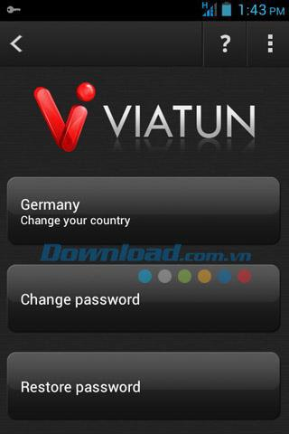 Viatun4 VPN for Android6.4.2-Android上のVPNアプリ
