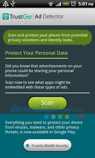 TrustGo Ad Detector for Android1.9-Android携帯から広告を削除する