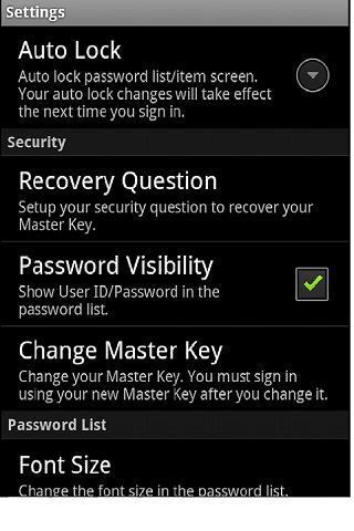 Android3.4のパスワードボックス-パスワードマネージャー