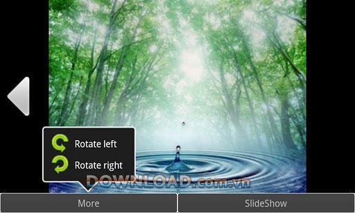 Android用プライベートギャラリー-暗号化された画像