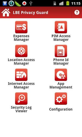 LBE Privacy Guard für Android