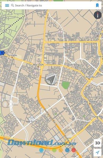 GPS Navigation&Maps Sygic forAndroid-Androidのオフラインマップ