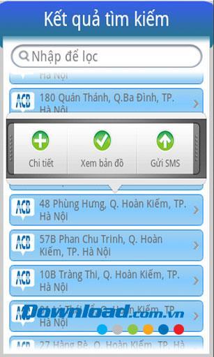 Android1.1用ベトナムATM-ベトナムATM検索アプリケーション