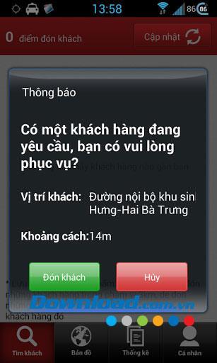 Android1.0用のPingtaxiドライバー-予約する顧客を見つけるためにタクシードライバーをサポートする