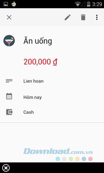 Geldliebhaber für Android - Verwalten Sie die Ausgaben für Android