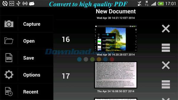 PDFスキャナー:Android1.2.10用のドキュメントスキャン+ OCR-Androidでドキュメントをキャプチャして認識するアプリケーション
