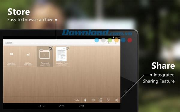 ScanWritr for Android2.5.3-Androidでドキュメントをスキャンして署名する