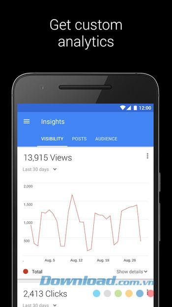Google My Business für Android 2.4.0.129495845 - Verbinden von Unternehmen und Kunden über Android