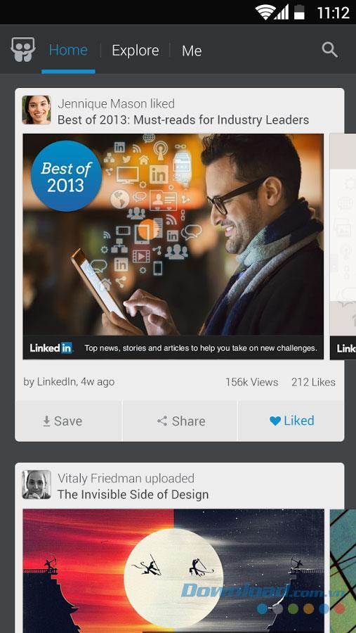 SlideShare for Android1.0.36-Androidでスライドショーファイルを共有およびダウンロードする