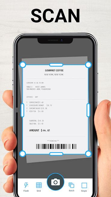 TapScanner forAndroid-Androidフォンをスキャナーに変える