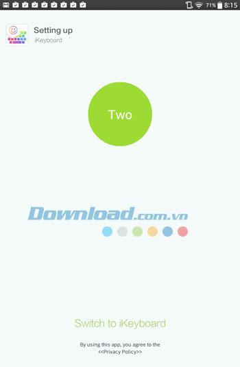 iKeyboard für Android 3.7.7 - Sehr niedliche Emoji-Tastatur für Android