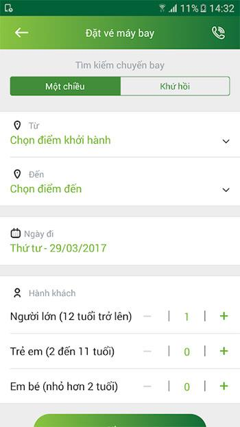 Android5.0.7用のVietcombank-Vietcombankの電子バンキングトランザクション