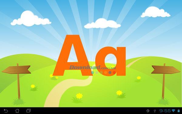 キッズABCレターforAndroid1.7-英語のアルファベットの発音を学ぶ