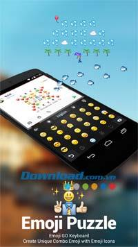 Android3.2用絵文字キーボード-Android上のGOキーボード用プラグイン
