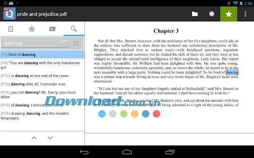 qPDF Viewer for Android 3.1.2-AndroidでPDFドキュメントを表示および読み取る