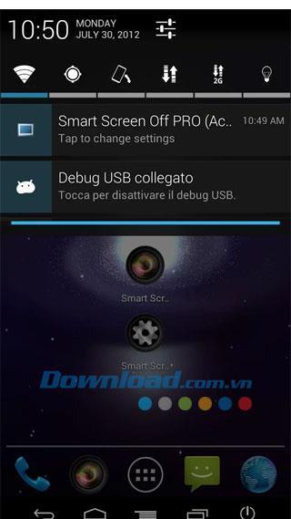 Smart Screen Off Pro für Android 2.3.2 - Schalten Sie Android mit dem Lichtsensor ein und aus