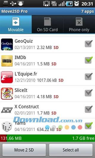 Android1.1.3の2SDを移動-アプリをSDカードに移動