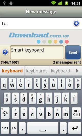 Smart Keyboard PRO für Android 4.7.1 - Virtuelle Tastatur für Android