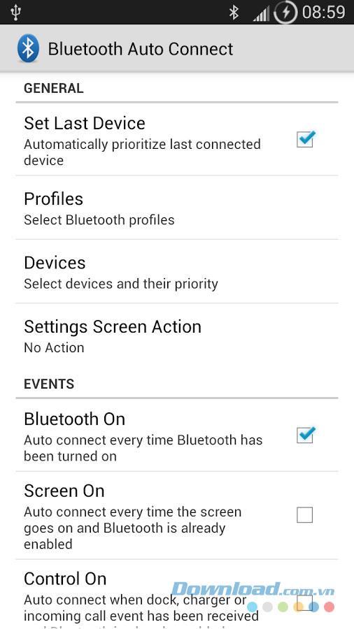 Bluetooth Auto Connect für Android 3.6.0 - Verbindet Bluetooth automatisch unter Android