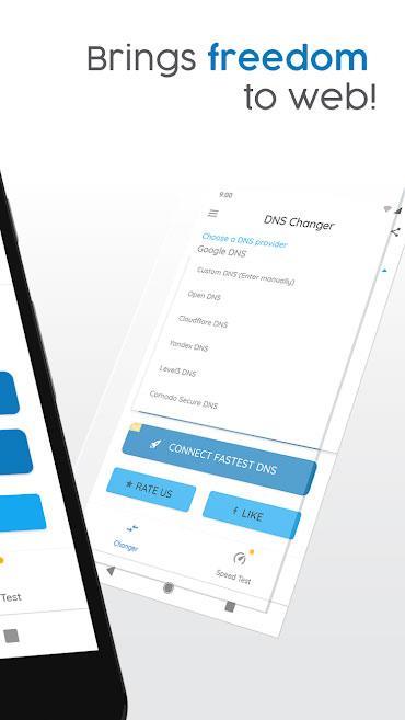 Android1193r用のDNSチェンジャー-rootなしでAndroid用のDNSを変更します