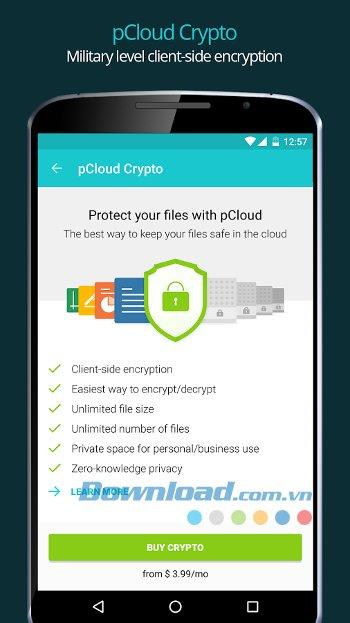 pCloud for Android1.14.03-Android上のクラウドストレージ