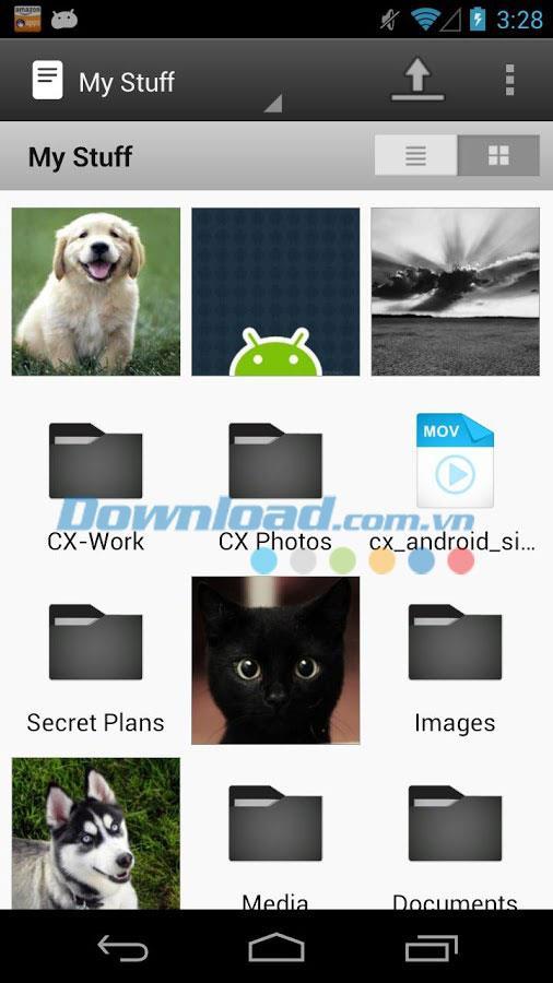 CX für Android 4.2.5 - Cloud-Speicher für Android
