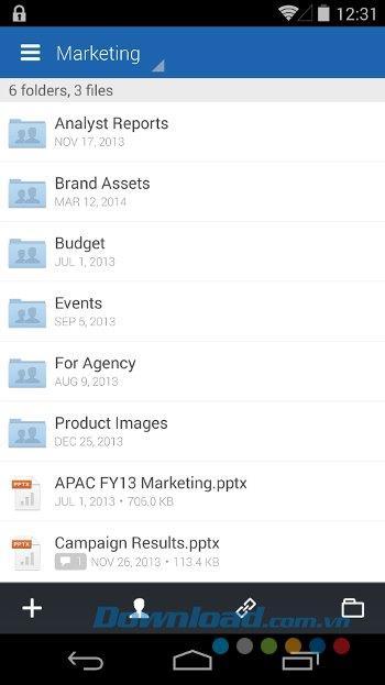 Box forAndroid-Androidでのオンラインデータバックアップ