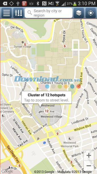 Boingo Wi-Finder für Android 5.0.0071 - Finden Sie kostenlosen WLAN-Hotspot für Android