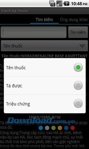 Drug Directory für Android 1.0 - Suchen Sie nach Drug Directory