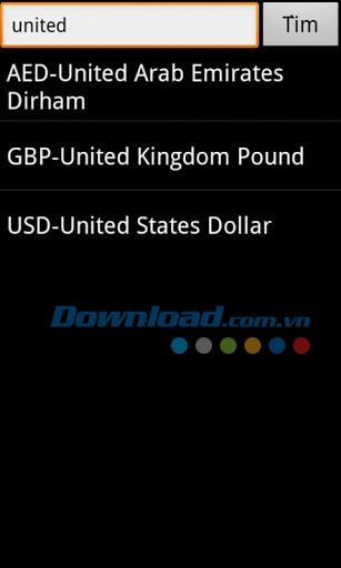 Online-Rate + für Android 1.0 - Online-Währungsumrechner