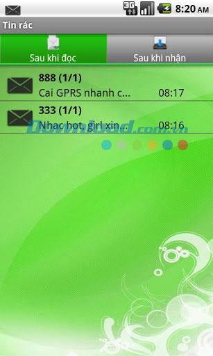 Android2.0用SMSシークレットボックス-メッセージ管理アプリケーション