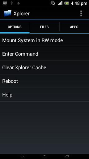 Android5.3用AndroidXplorer(ルート)-ディレクトリの作成と権限の修復