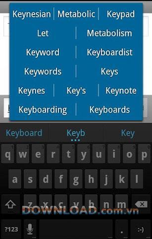 ICS Keyboard für Android - Tastatur-App für Android
