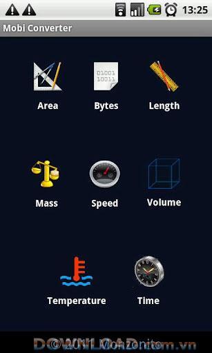 Android用Mobiコンバーター-ユニットコンバーター
