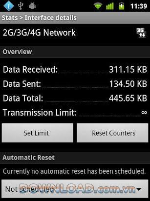Androidの無料統計-使用統計