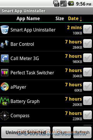 Android用スマートアプリアンインストーラー-アプリをすばやくアンインストールします