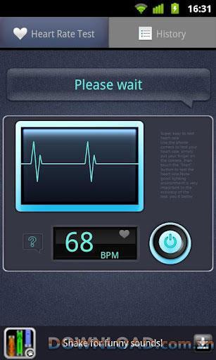 Android用心拍数テスター-心拍数モニター