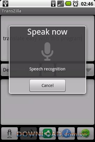 Traducteur français TransZilla pour Android - outil de traduction français