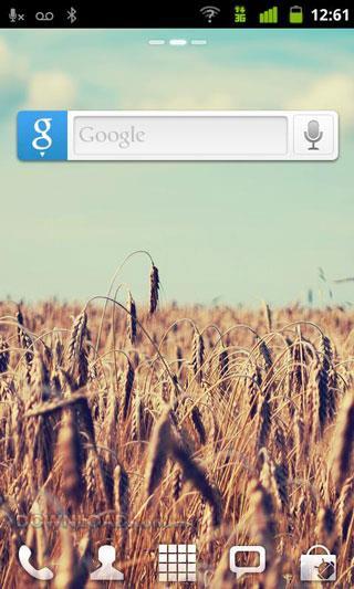GO Search Widget für Android