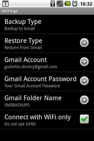 Sauvegarde SMS Android gratuite