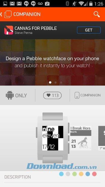 Pebble pour Android - Connectez Pebble Smartwatch au téléphone Android